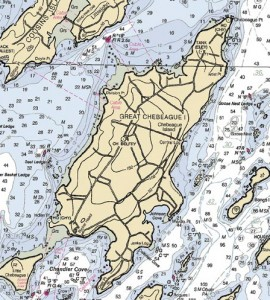Map of Chebeague Island